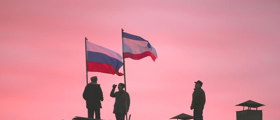 Krim Annexion Russland Deutschland Streit