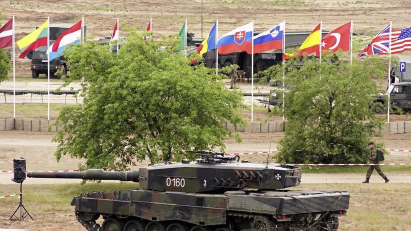 Militärbündnis: Nato-Übung in Polen im Juni 2015