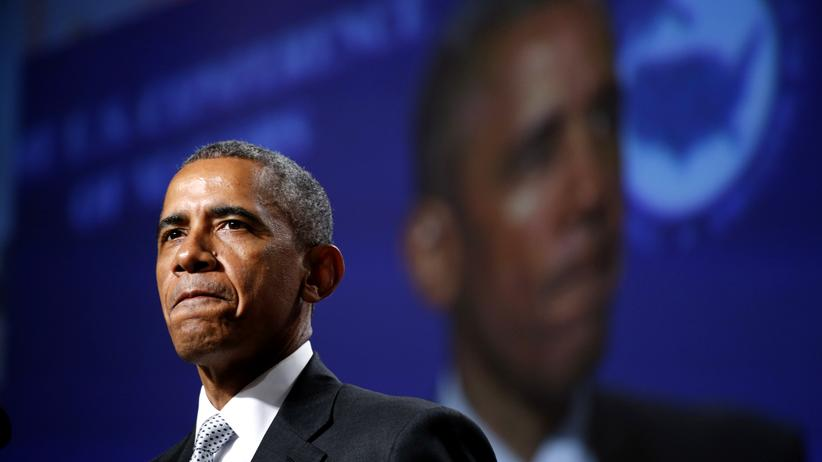 Charleston: US-Präsident Obama in San Francisco (Archivbild)