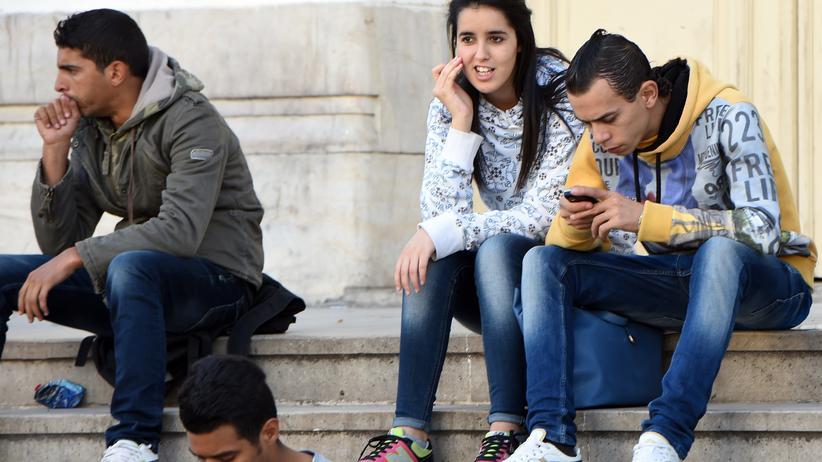 Tunesien: Ohne Perspektive: arbeitslose Studenten in Tunis