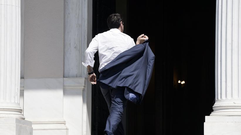 Griechenland: Muss Tsipras zurücktreten?