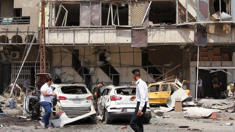 Bei Anschlägen in Bagdad sind mindestens 35 Menschen getötet worden. (Archivbild)