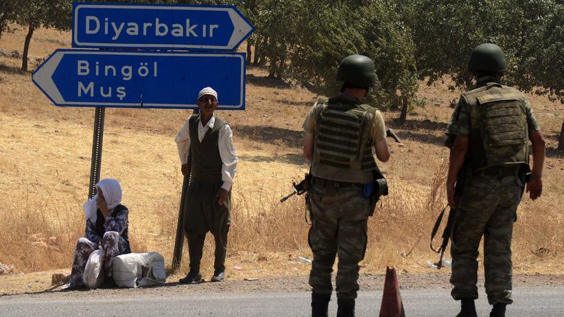 Diyarbakir Türkei Anschlag Polizisten