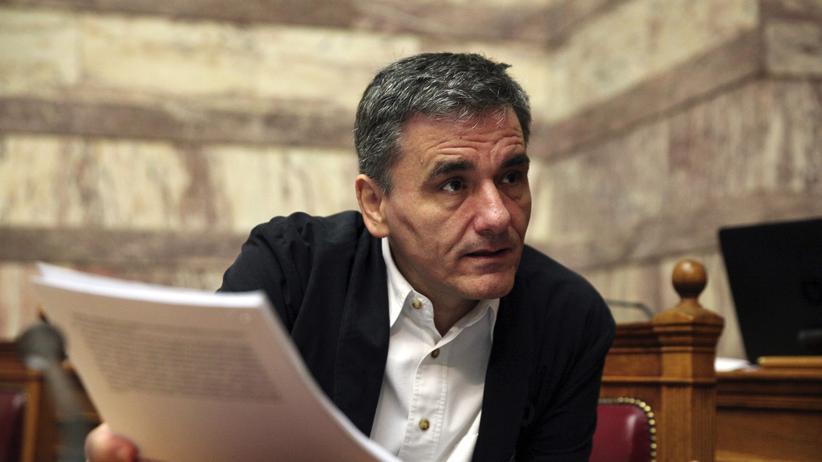 Griechenland: Finanzminister Tsakalotos auf Stimmenfang im Parlament