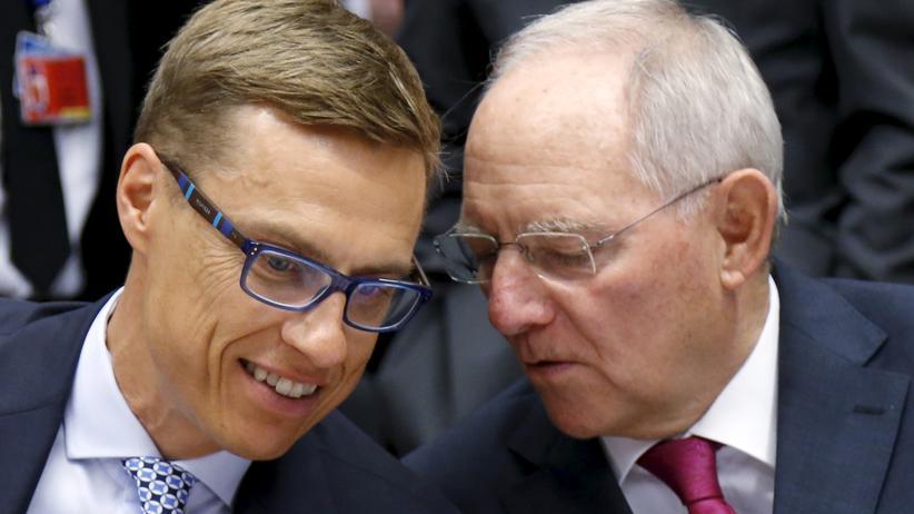 Finnland: Schäubles größte Fans