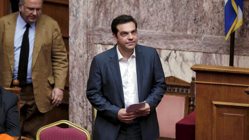 Griechenland Schulden Tsipras