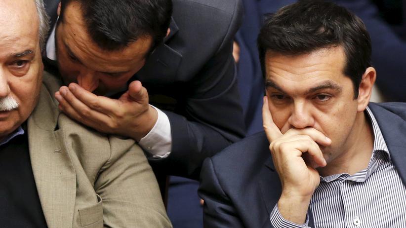 Griechenland: Die Tsipras-Regierung zerbricht