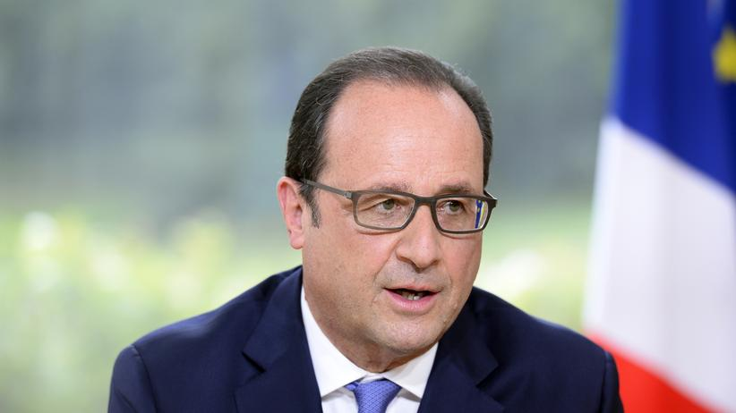 Frankreiche Euro-Zone François Hollande
