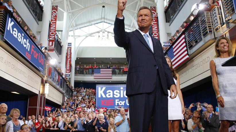 US-Republikaner: Moderater John Kasich will US-Präsident werden