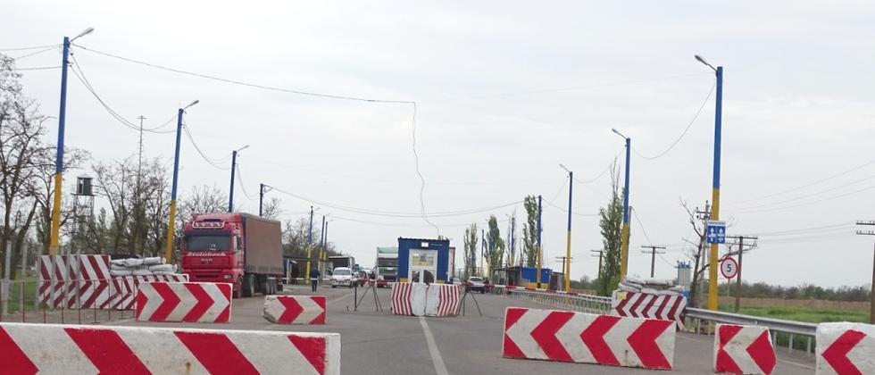 Krim: Grenze bei Armjansk