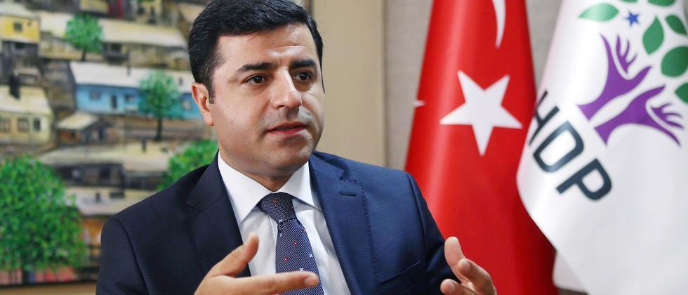 Selahattin Demirtaş, Co-Vorsitzender der türkischen Partei HDP