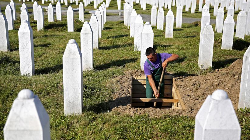 """Massaker von Srebrenica: """"Wir sind bereit, uns vor den Opfern zu verneigen"""""""