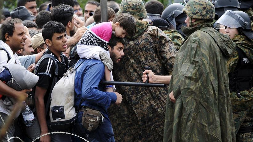 Flüchtlinge Mazedonien