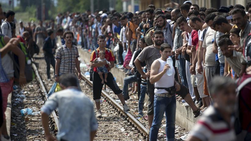 Flüchtlingskrise Mazedonien