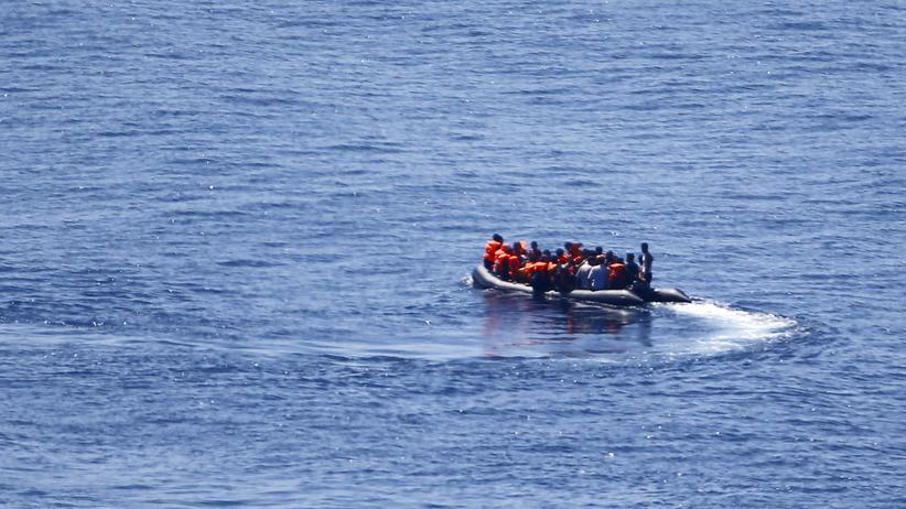 Frontex: Flüchtlinge auf dem Weg zur griechischen Insel Lesbos