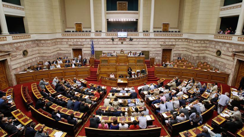 Griechenland: Parlament in Athen stimmt für drittes Hilfspaket