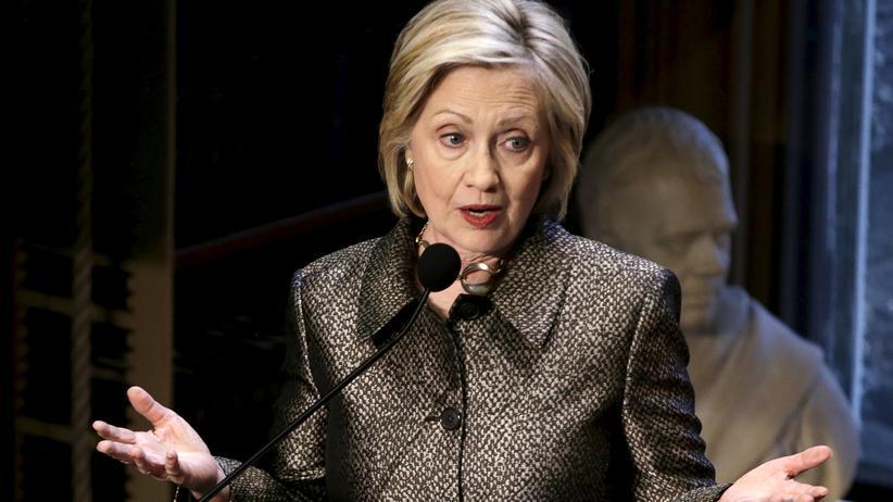 USA: Die Präsidentschaftsbewerberin Hillary Clinton