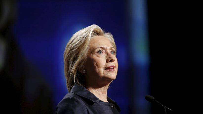 US-Wahlkampf: Die demokratische US-Präsidentschaftskandidatin Hillary Clinton
