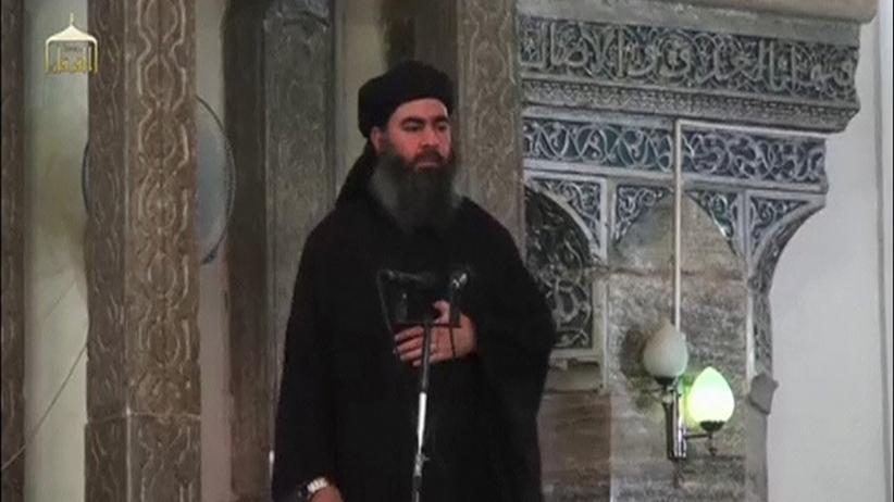 Abu Bakr al-Bagdadi: IS-Chef Abu Bakr al-Bagdadi