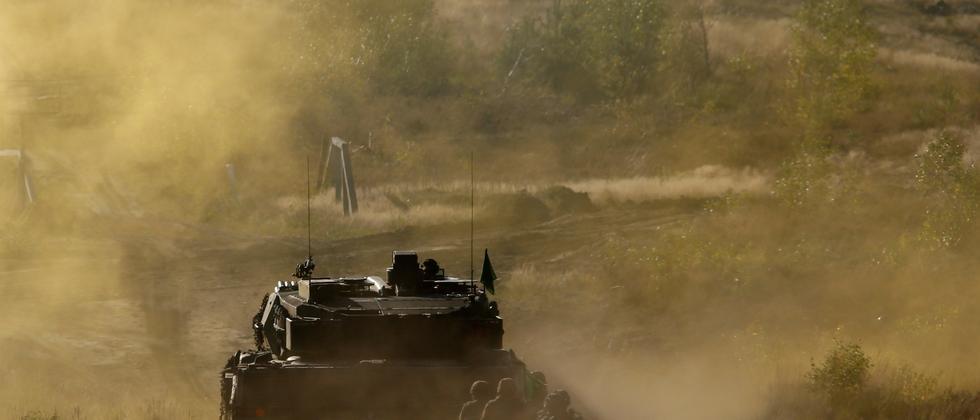 Leopard 2 Panzer Griechenland Armee