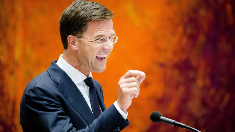 Griechenland: Ministerpräsident Rutte im Parlament