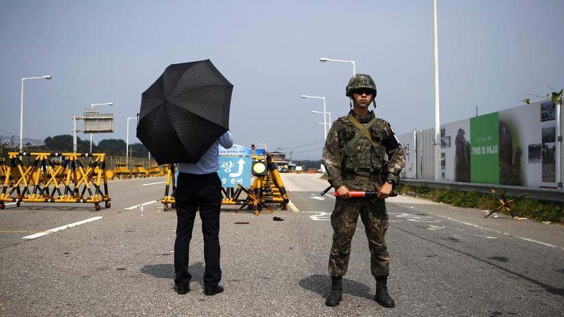 Nordkorea Südkorea Konflikt Einigung Propaganda USA Militär