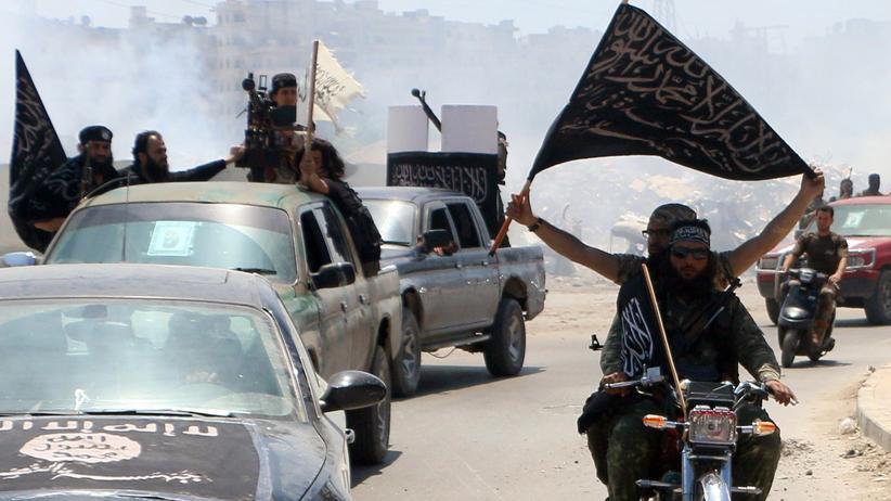 Syrien: Kämpfer der Al-Nusra-Front in Aleppo