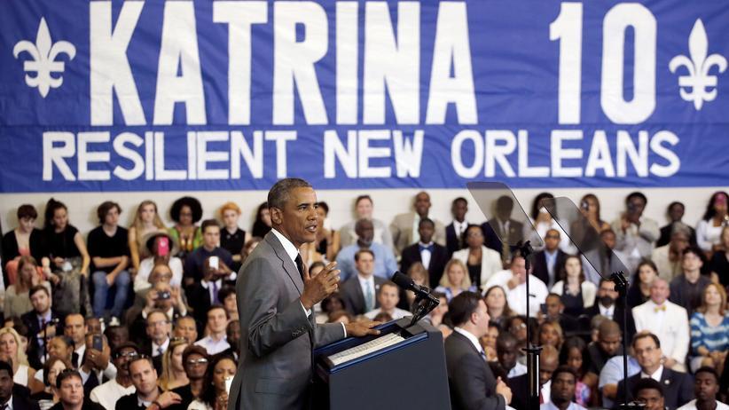 New Orleans: Obama lobt Wiederaufbau nach Hurrikan Katrina