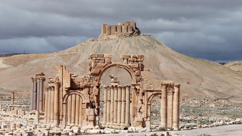 "Politik, ""Islamischer Staat"", Islamischer Staat, Islamistischer Terrorismus, Archäologie, Syrien, Unesco-Weltkulturerbe"