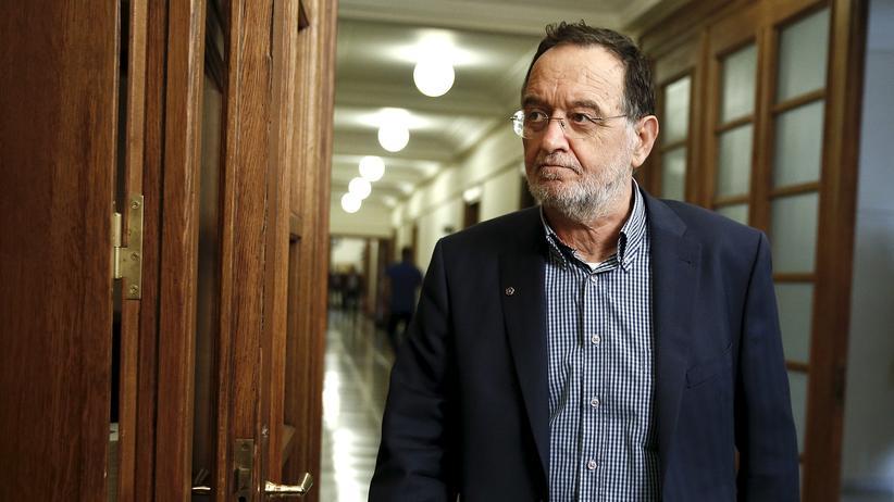 Griechenland: Der Chef der neuen linken Partei, Panagiotis Lafazanis
