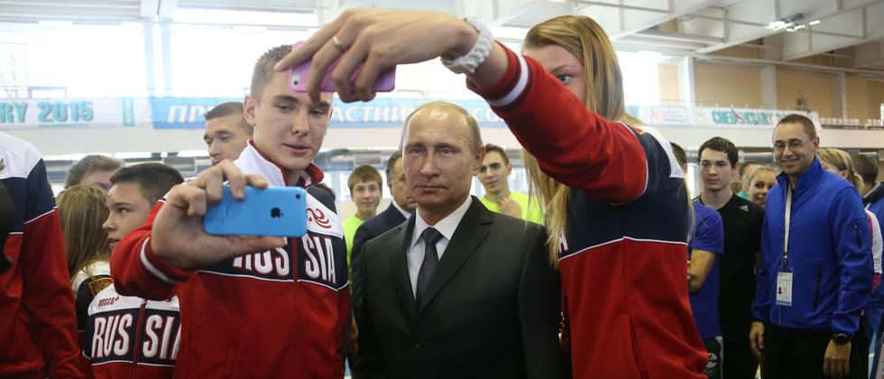 Russland Propaganda Jugend