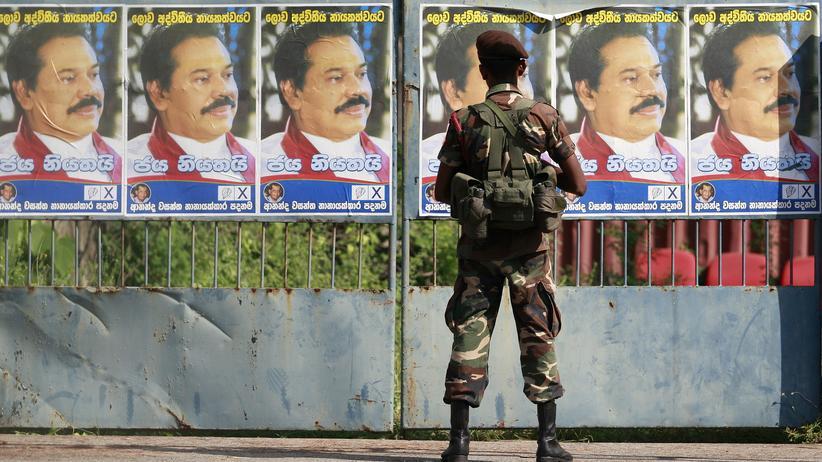 Sri Lanka: Rajapakse räumt Niederlage bei Parlamentswahl ein
