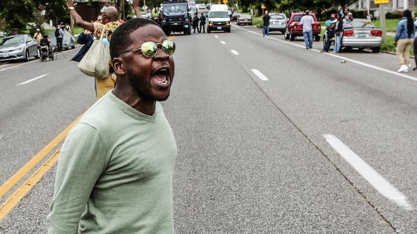 Polizeigewalt: In St. Louis ist es zu heftigen Ausschreitungen gekommen.