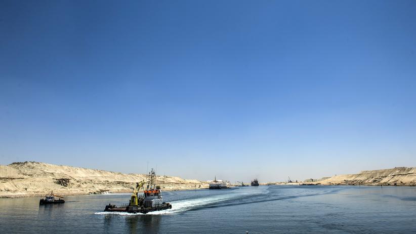 Sueskanal: Sie kriegen den Kanal nicht voll