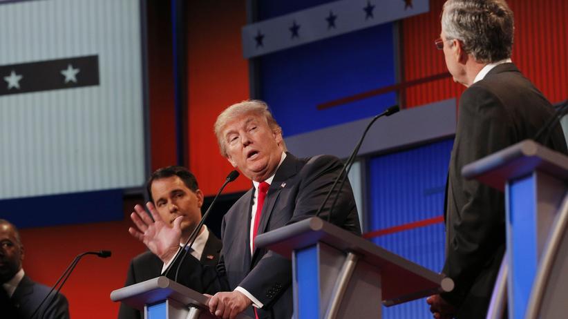 Präsidentschaftskandidat Donald Trump hält sich eine parteilose Kandidatur offen.