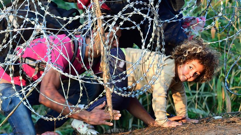 Serbien: Ungarn schottet sich mit Stacheldraht gegen Flüchtlinge ab