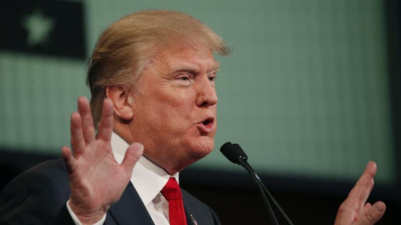 Donald Trump führt weiter in den Umfragen.