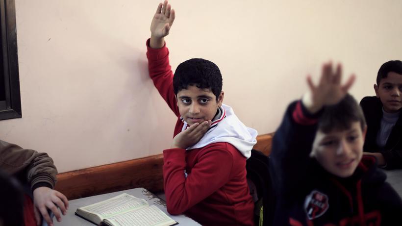 Bildungsprogramm: UN-Schulen für palästinensische Kinder können wie ...