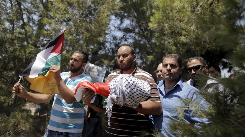 Westjordanland: Vater des verbrannten Jungen stirbt an Verletzungen