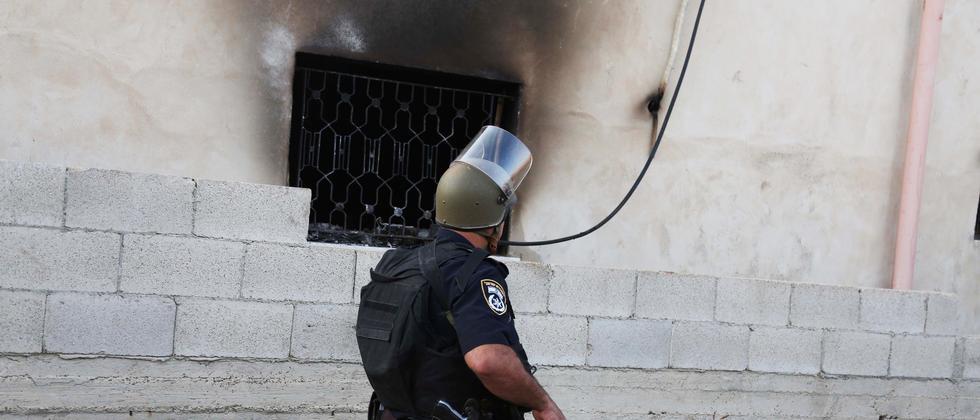 Westjordanland Duma Brandanschlag