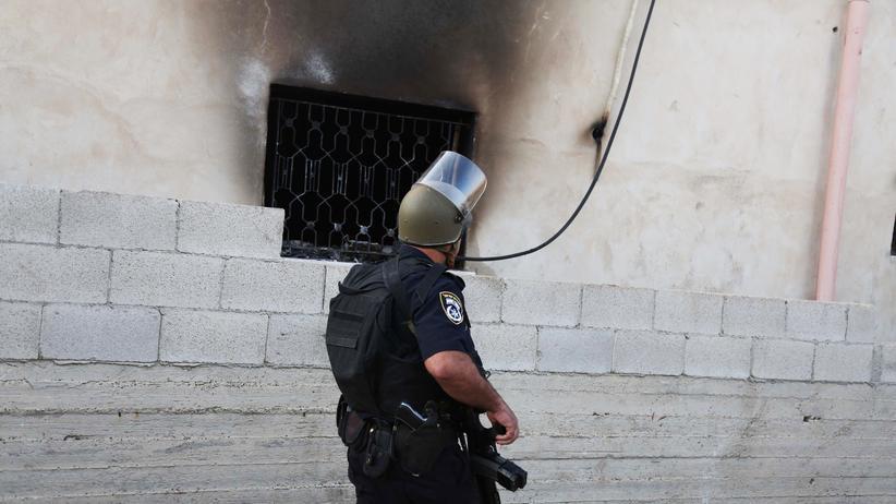 Politik, Westjordanland, Brandanschlag, Palästinenser, Israel, Westjordanland, Terrorismus