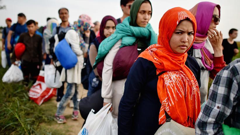 Politik, Flüchtlingskrise, Kroatien, Mitteleuropa, Rumänien, Flüchtling, Mine, Polizei, erbien , Ungarn, Slowenien, Türkei, Syrien