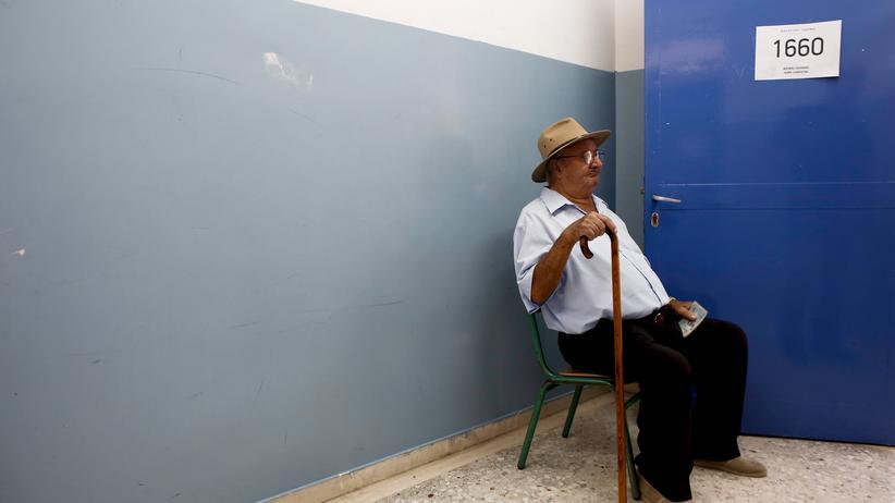 Griechenland: Nur wenige Griechen geben ihre Stimme ab