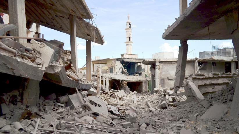 Homs Syrien Russland Intervention Islamischer Staat