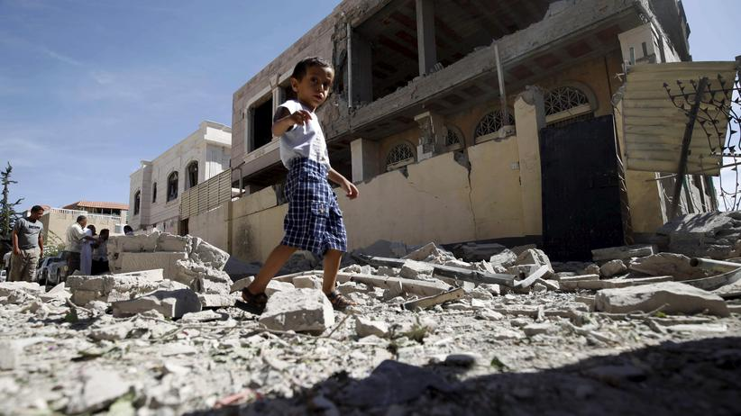 Jemen, Bombenangriff, Luftwaffe, Saudi Arabien