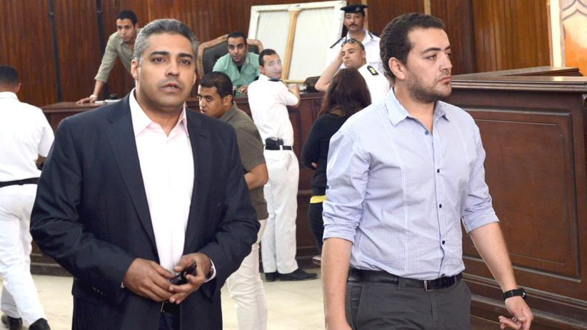Ägypten: Präsident Al-Sissi begnadigt Al-Jazeera-Journalisten