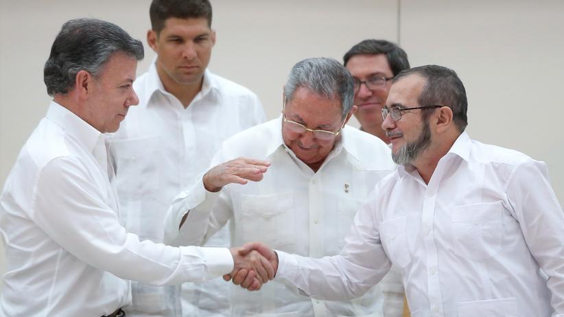 Politik, Kolumbien, Farc, Guerilla