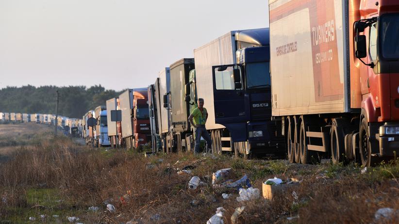 Ukraine: Keine Lebensmittel für die Krim