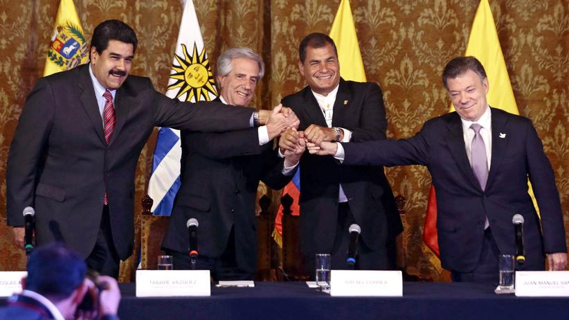 Grenzstreit: Venezuela und Kolumbien nähern sich an
