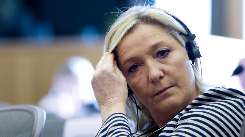 Front National: Front-National-Chefin Marine Le Pen